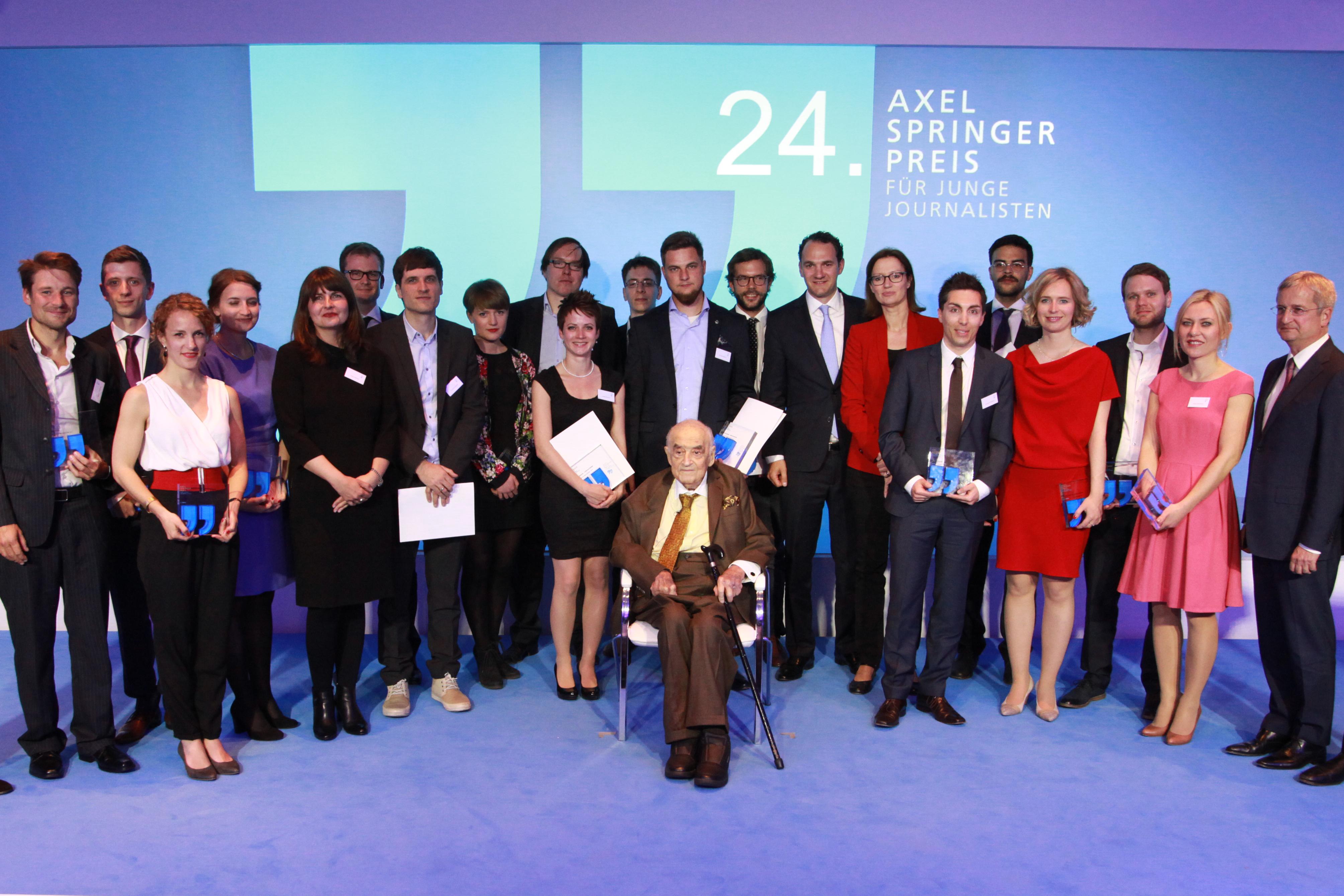 Axel Springer Preis für junge Journalisten 2015